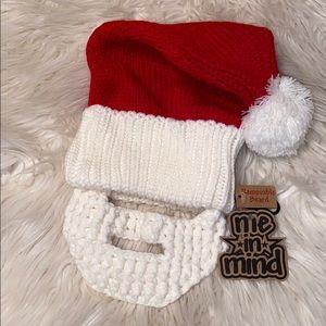 🔥 3/$15 🔥 Santa Beanie with Removable Beard